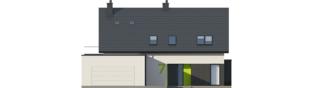 Projekt domu Malkolm G2 - elewacja frontowa