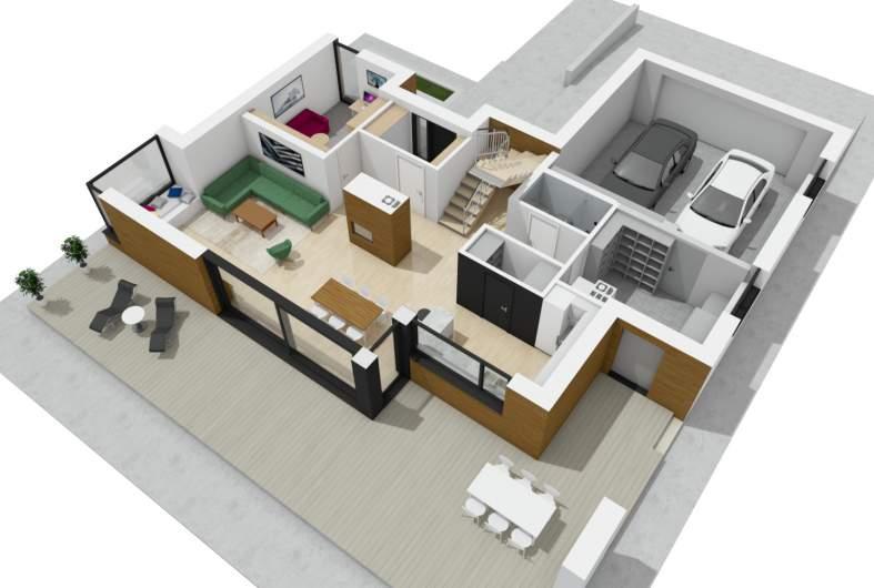 Projekt domu Malkolm G2 -