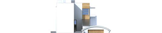 Маріан (Г2) - Projekt domu Marian G2 - elewacja frontowa