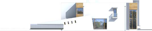 Маріан (Г2) - Projekt domu Marian G2 - elewacja prawa