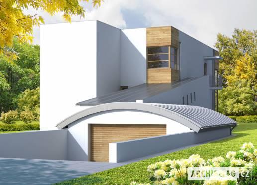 Projekt rodinného domu - Marian