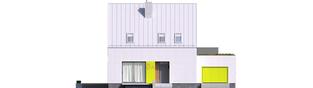 Projekt domu Mini 5 G1 PLUS - elewacja frontowa