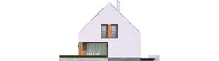 Projekt domu Mini 5 G1 PLUS - elewacja lewa