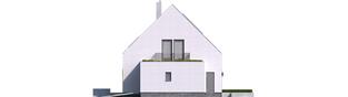 Projekt domu Mini 5 G1 PLUS - elewacja prawa