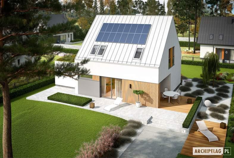 Projekt domu Mini 5 G1 PLUS - widok z góry