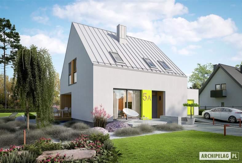 Projekt domu Mini 5 G1 PLUS - wizualizacja frontowa