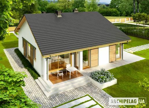 Проект будинку - Рафаель ІІІ (Г1, 30°)