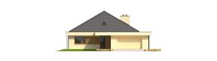 Projekt domu Gilbert G2 - elewacja frontowa