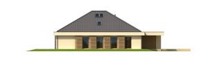 Projekt domu Gilbert G2 - elewacja lewa