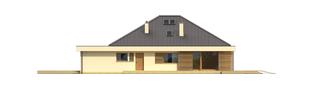 Projekt domu Gilbert G2 - elewacja prawa