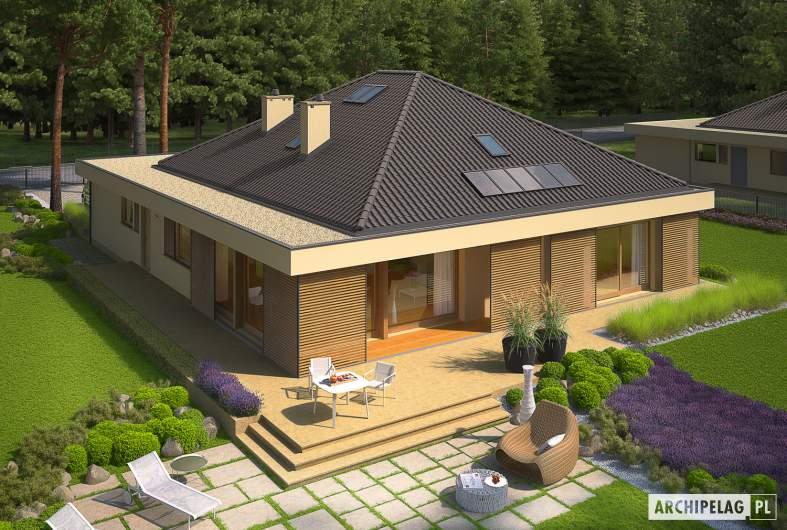 Projekt domu Gilbert G2 - widok z góry
