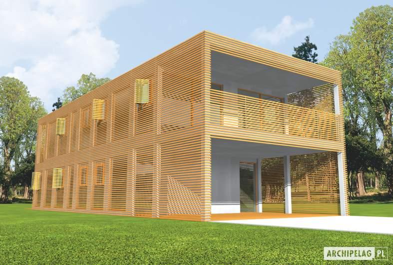 Projekt domu Roger (z wiatą) -