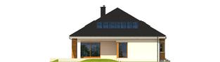Projekt domu Liv 3 G2 ENERGO PLUS - elewacja tylna