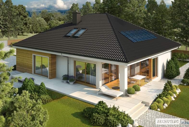 Projekt domu Liv 3 G2 ENERGO PLUS - widok z góry