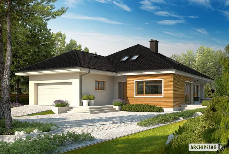 Projekt domu Liv 3 G2 ENERGO PLUS - wizualizacja frontowa