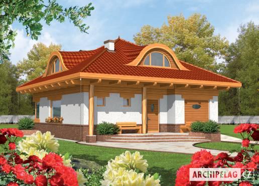 Projekt rodinného domu - Žofka (v. I)