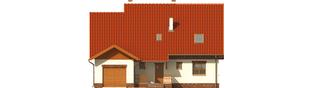 Projekt domu Amanda G1 - elewacja frontowa