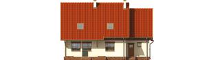 Projekt domu Amanda G1 - elewacja tylna