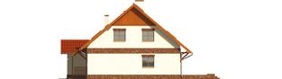 Projekt domu Amanda G1 - elewacja prawa
