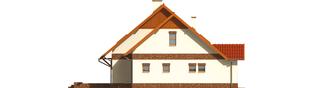 Projekt domu Amanda G1 - elewacja lewa