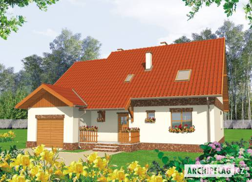 Projekt rodinného domu - Amanda