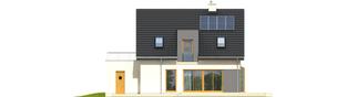 Projekt domu Mati II G1 - elewacja tylna