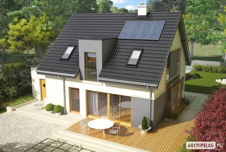 Projekt domu Mati II G1 - widok z góry