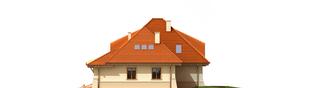 Projekt domu Petra G2 - elewacja lewa