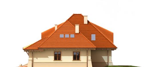 Petra G2 - Projekty domów ARCHIPELAG - Petra G2 - elewacja lewa
