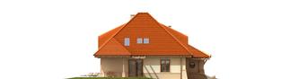 Projekt domu Petra G2 - elewacja prawa