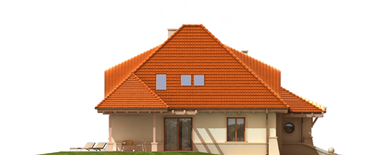 Petra G2 - Projekty domów ARCHIPELAG - Petra G2 - elewacja prawa