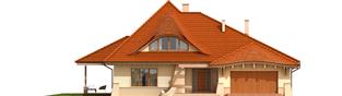 Projekt domu Petra G2 - elewacja frontowa