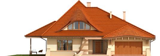 Petra G2 - Projekty domów ARCHIPELAG - Petra G2 - elewacja frontowa