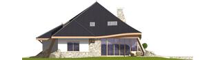 Projekt domu Jakub G2 - elewacja prawa