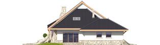Projekt domu Jakub G2 - elewacja lewa