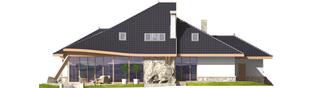 Projekt domu Jakub G2 - elewacja tylna