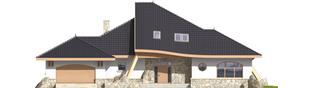 Projekt domu Jakub G2 - elewacja frontowa