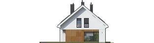 Projekt domu Tola - elewacja lewa