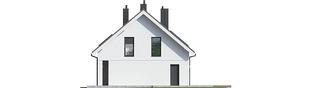 Projekt domu Tola - elewacja prawa