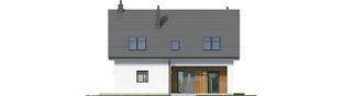 Projekt domu Tola - elewacja frontowa
