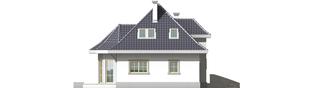 Projekt domu Dora G2 - elewacja tylna