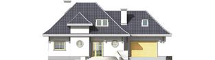 Projekt domu Dora G2 - elewacja frontowa