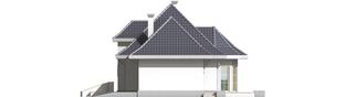 Projekt domu Dora G2 - elewacja prawa