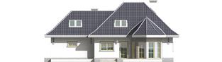 Projekt domu Dora G2 - elewacja lewa