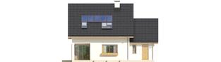 Projekt domu Liv 4 G1 - elewacja tylna