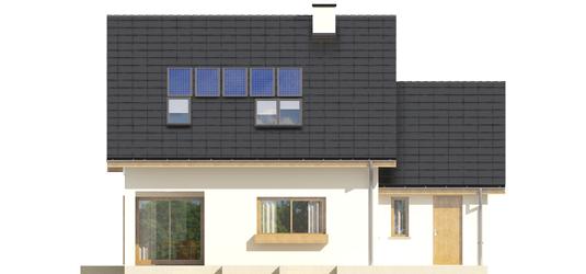 Liv 4 G1 A++ - Projekt domu Liv 4 G1 - elewacja tylna