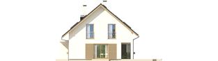 Projekt domu Liv 4 G1 - elewacja prawa