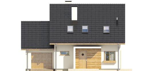 Liv 4 G1 A++ - Projekt domu Liv 4 G1 - elewacja frontowa