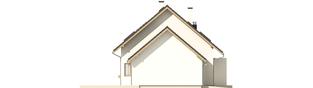 Projekt domu Liv 4 G1 - elewacja lewa