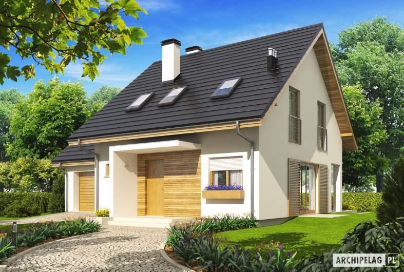 Projekt domu Liv 4 G1 - wizualizacja frontowa
